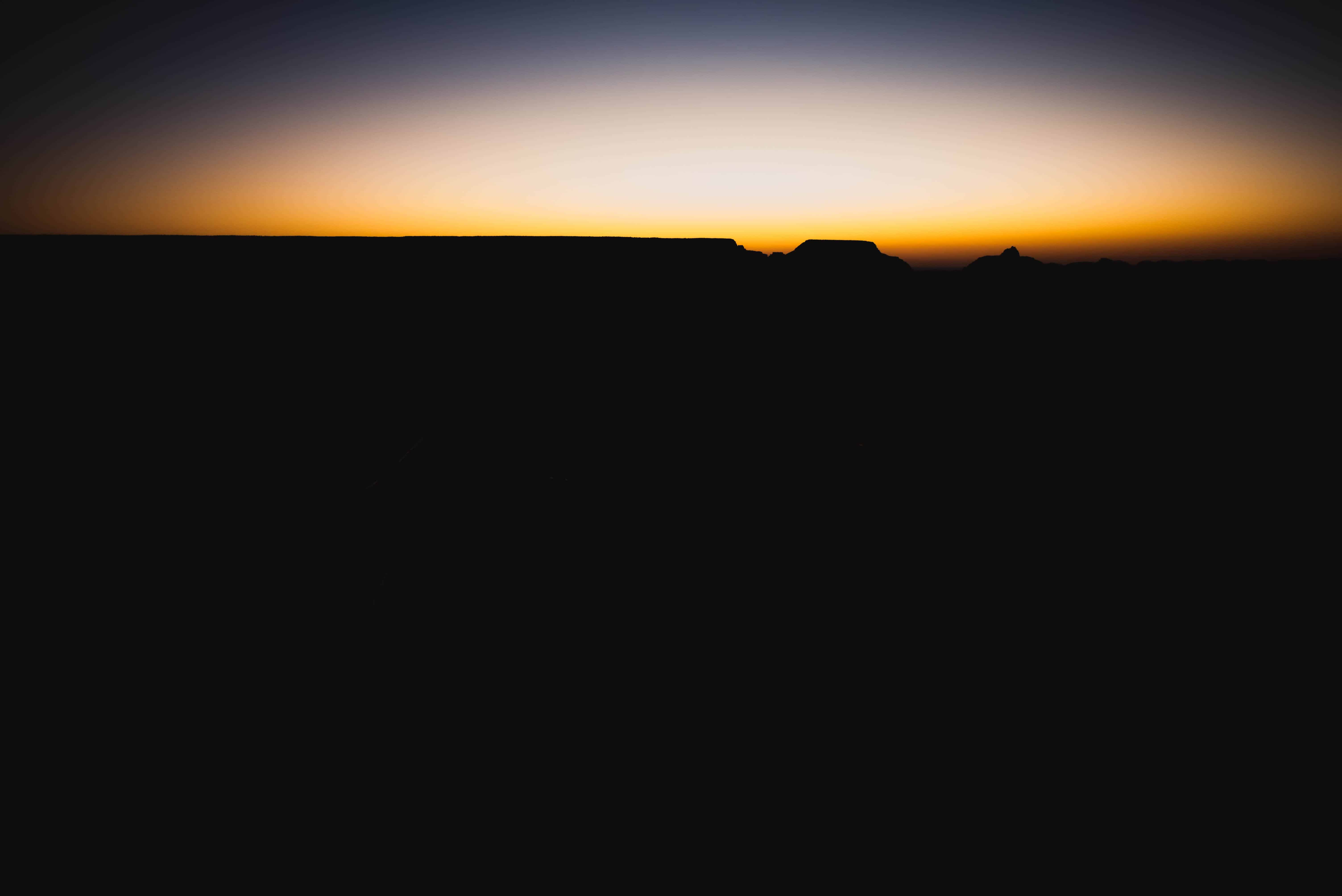 Various Lighting Visuals during the Sunrise at Mather's Point in Grand Canyon, Arizona_05