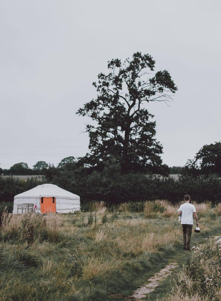 Everything you need to know for a Winter Yurt Camping Experience - Yurt Example image - photo by Annie Spratt, source: unsplash.com